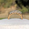 0.48ctw Vintage Transitional Cut Diamond 5-stone Band 0