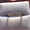 0.48ctw Vintage Transitional Cut Diamond 5-stone Band 15