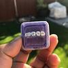 1.37ctw Platinum and Diamond 5-stone Band 19