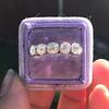 1.37ctw Platinum and Diamond 5-stone Band 4