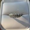 0.65ctw Vintage Single Cut Diamond Double Row Band 7