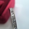 2.03ctw French Cut Eternity Band 10
