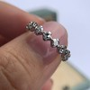 .80ctw French Cut Eternity Band 5