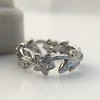 Kelege Floral Motif Eternity Band 11