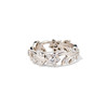 Kelege Floral Motif Eternity Band 0