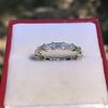 2.10ctw Platinum Baguette Eternity Wedding Band 12
