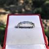 2.10ctw Platinum Baguette Eternity Wedding Band 13