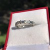 2.10ctw Platinum Baguette Eternity Wedding Band 6