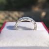 2.10ctw Platinum Baguette Eternity Wedding Band 19