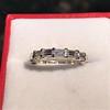2.10ctw Platinum Baguette Eternity Wedding Band 7