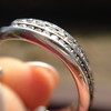 .49ctw triple row wedding band 16