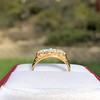0.69ctw Victorian 5-stone Scroll Band 13