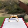 0.69ctw Victorian 5-stone Scroll Band 15