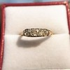 0.69ctw Victorian 5-stone Scroll Band 2