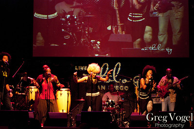 Les Nubians performing at Anthology in San Diego on 5/22/2011