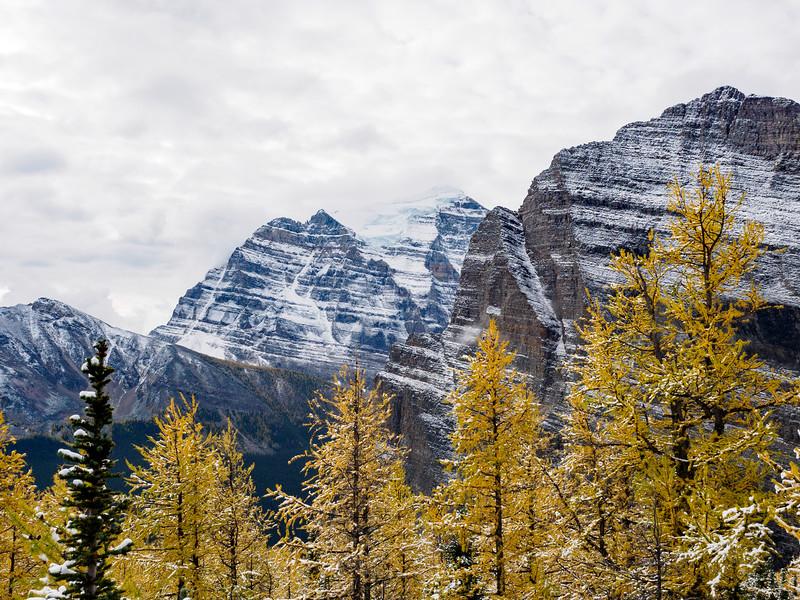Craggy peaks