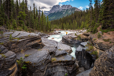 Mistaya Canyon, Banff National Park, Canada