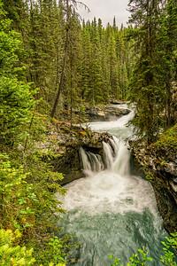 Johnston Creek Falls Mid-point