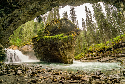 From the cave at Johnston Creek Falls Upper