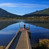 Sunrise Yoga at Vermillion Lakes
