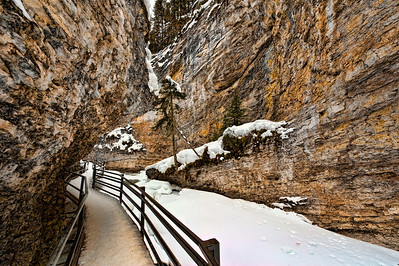 Johnson's Canyon, Banff National Park