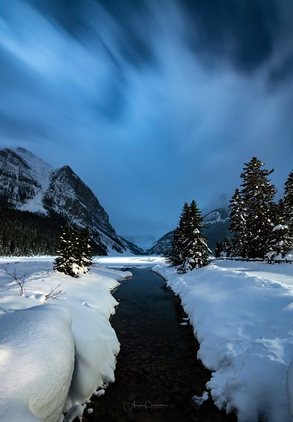 Lake Louise Night