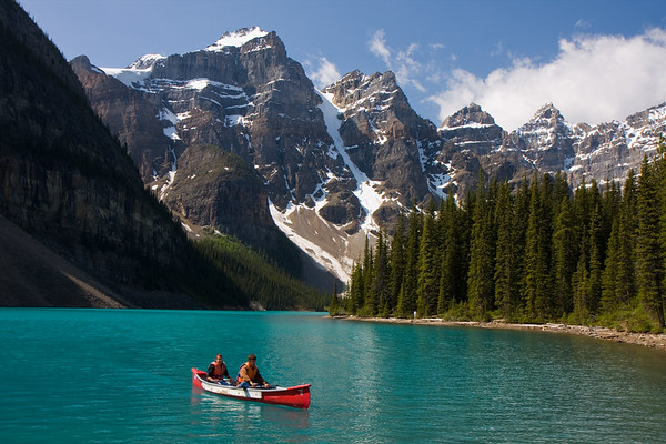 Nice place to take a canoe out, eh?