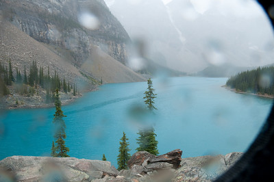 Moraine Lake - Lovely weather we're having