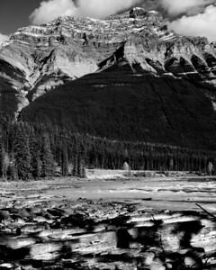 Mt. Kerkeslin and Athabasca River