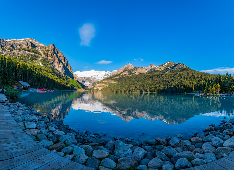 Lake Louise, Sunrise - Banff National Park