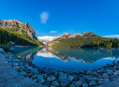 Lake Louise, Sunrise - Banff National Park