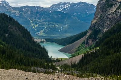 Lake Louise, Plain of Six Glaciers Trail - Banff National Park