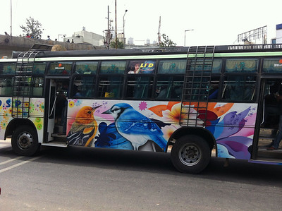 Colourful Bus