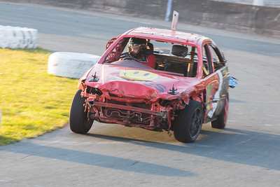 Banger Racing at Onchan Park
