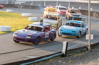 Banger Racing at Onchan Park