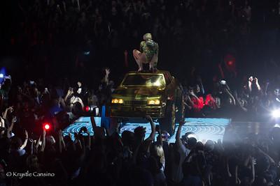 MileyCyrus / Icona Pop / Bangerz Tour 2014 at Oakland Oracle Arena