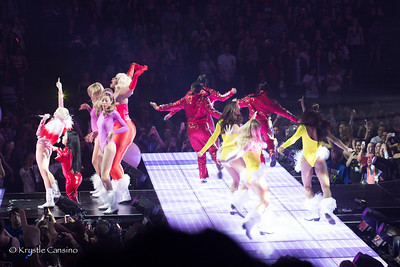 Miley Cyrus / Bangerz Tour 2014 at the Oracle Arena in Oakland