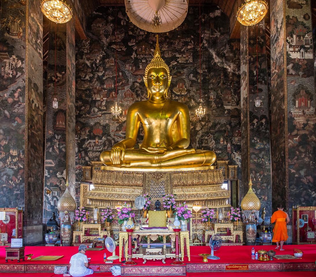 Wat Suthat Thepwararam Ratchaworamahawihan, Bangkok, Thailand