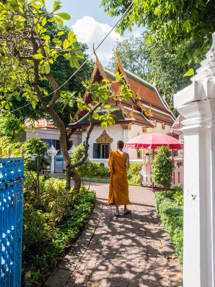 Wat Mahathat Yuwaratrangsarit Ratchaworamahawiharn, Bangkok, Thailand