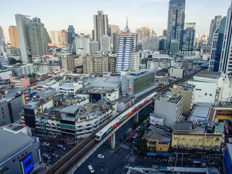 Sky train (BTS), Bangkok