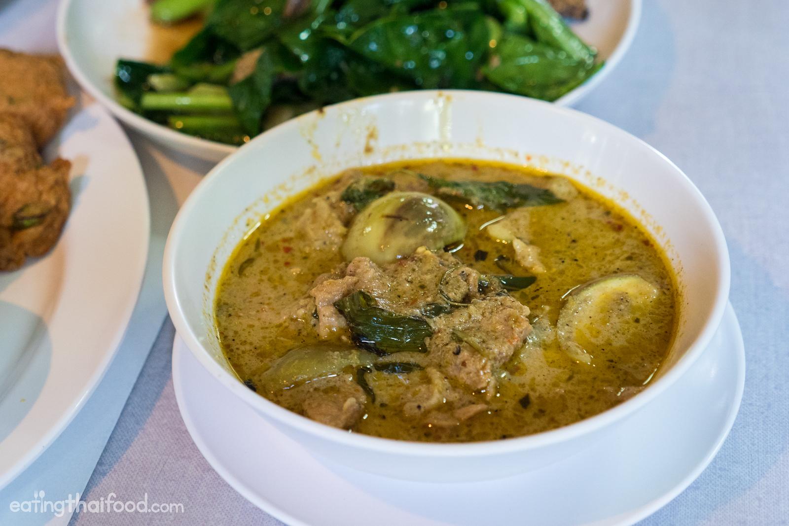 Gaeng keow wan neua (แกงเขียวหวานเนื้อ)