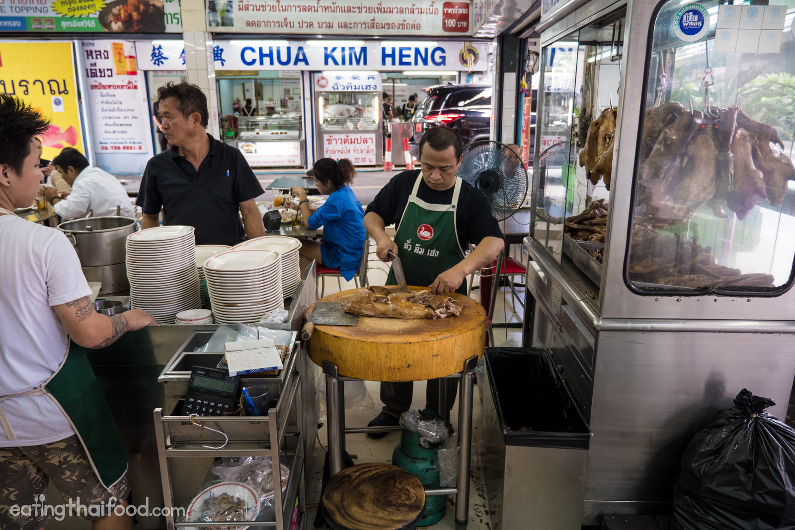 Legendary braised goose at Chua Kim Heng (ร้านฉั่วคิมเฮง)