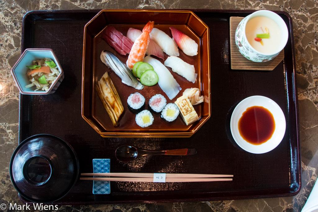 Nigiri Sushi Gozen lunch special
