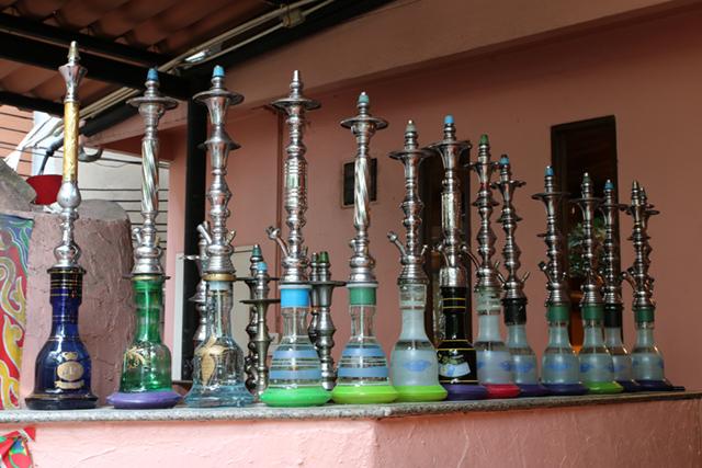 Sheesha pipes