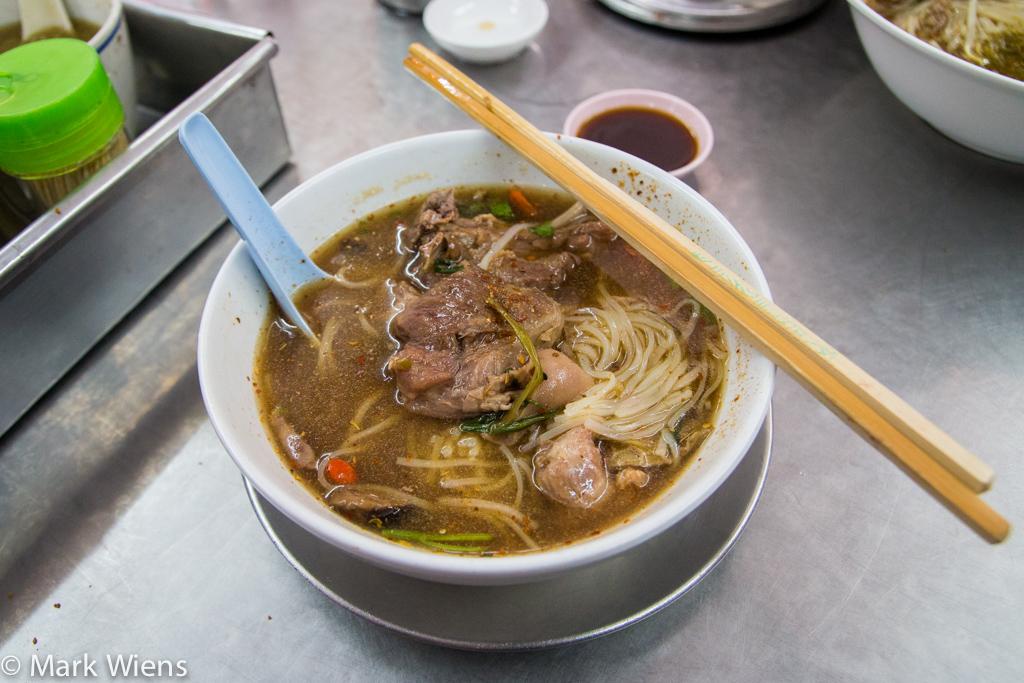Thai goat noodles