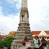 Diane at Wat Arun - Bangkok, Thailand