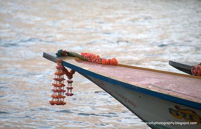 Tak Sin Cross River ferry - December 2009