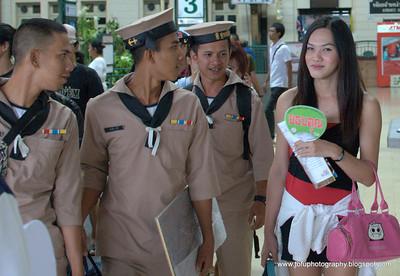 Bangkok railway station - December 2009