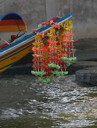 On the Chao Praya River - December 2009