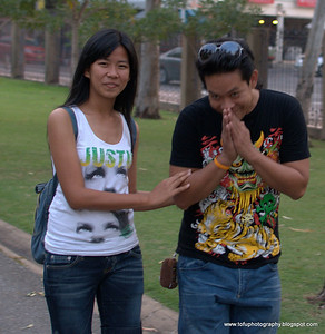 Chatuchak Park and the Skytrain - December 2009